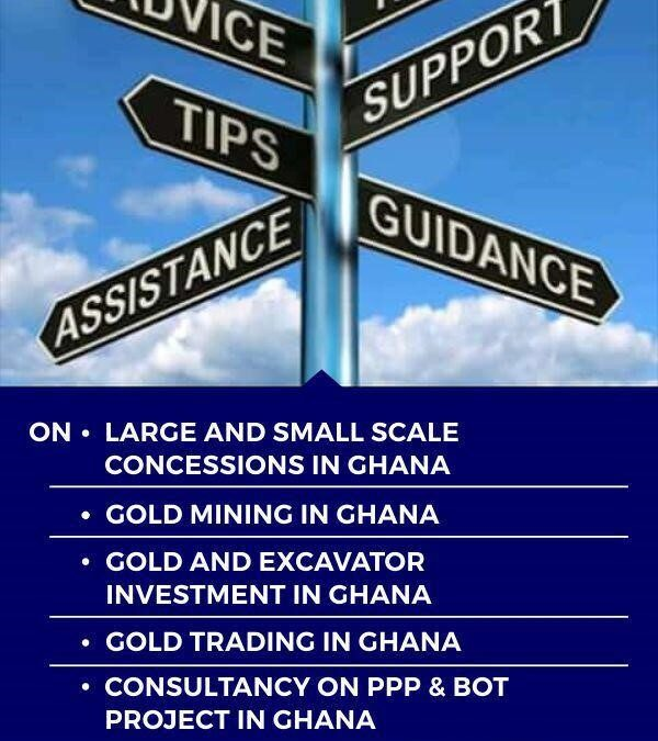 WHAT CONSULTANCY STANDS FOR IN THE GOLD INDUSTRY.
